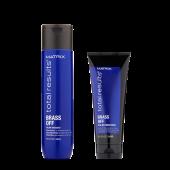 Matrix Brass Off Bundel: Shampoo + Masker