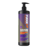 Fudge Clean Blonde Damage Rewind Violet-Toning Shampoo 1000ml