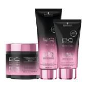 Schwarzkopf BC Fibre Force bundel: Shampoo, Masker, Sealer